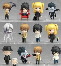Nendoroid Death Note Petite set ... I'm going to be so poor on pay day!
