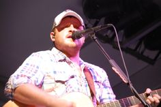 Red Raider and rising country music star, Josh Abbott, plays at the Broadway Festival in Lubbock.