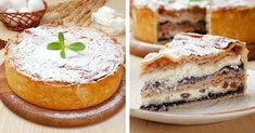 Балканский пирог с творогом и яблоками