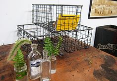 great wire bins for the office