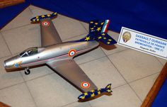 Patrouille de France Dassault Ouragan, Aerobatic Display Teams SIG stand, Maquettexpo 2013. i like this www.airfixmodels.co.uk