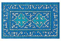 Shyrak Rug, Blue/Turquoise
