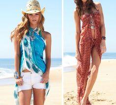 Quer arrasar na moda praia trocando apenas a canga? Aprenda 10 amarrações diferentes e bem fáceis de copiar.