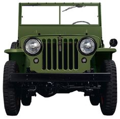 """A masterpiece of utilitarian design, the Museum of Modern Art described the Jeep as a masterpiece of functionalist design...""""The Jeep substitutes for a deliberate esthetic program the formative principles of construction; its design is unified by the economy, (disdaining the merely decorative) with which each part is fitted for its purpose. It is one of the few genuine expressions of machine art."""""""