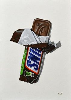 """Daily Paintworks - """"Snickers"""" - Original Fine Art for Sale - © Kim Testone"""