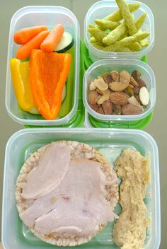 Healthy Girl On-The-Go Lunch #5
