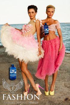 Campania Fashion Luxury Spring Water realizata de Fashiontv Romania - galerie foto Spring Water, Lily Pulitzer, Luxury, Dresses, Fashion, Vestidos, Moda, Mineral Water, Fashion Styles
