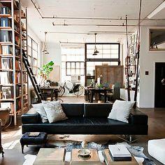 Library/Living room: Roseland Greene