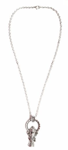 Honor Oak Park - Beautiful elephant necklace. Charm size is just over 1 inch and you can choose if you would like an 18 inch chain or 24'. The perfect gift for anyone that loves travel, meditation or spirituality.