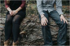 Autumn New Forest engagement shoot