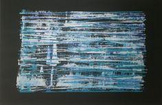 Dino Buchmann, Auf den Spuren von Gerhard Richter 1, 2016, Acryl auf Leinwand, BxH 90x61 cm on ArtStack #dino-buchmann #art Gerhard Richter, Artist, Canvas, Artists