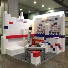 Everblock Create Trade Show Booths Or Disaster Relief Bldg With