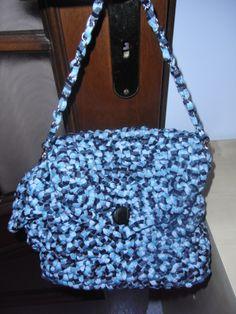 borsa Anna realizzata in fettuccia con base