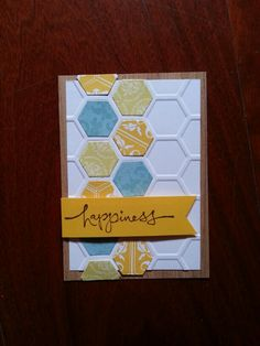 HEXAGON Artist tradind card
