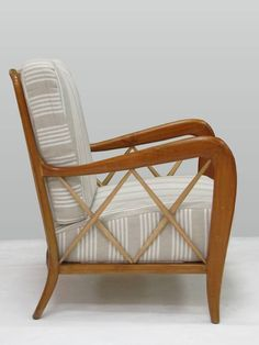 Rare 1940s Set of Lounge Seats in the style of Guglielmo Ulrich or Paolo Buffa | From a unique collection of antique and modern living room sets at https://www.1stdibs.com/furniture/seating/living-room-sets/