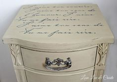 cute old furniture transformed into romantic shabby chic nightstand, painted furniture, shabby chic