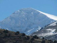 Mulhacen, el punto mas alto de la peninsula iberica con 3479 metros de altura.