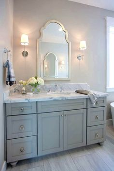 Vanity Bathroom Furniture New Excellent 43 Bathroom Vanity Portrait – Most Popular Modern Bathroom Design Ideas for 2019 Grey Bathroom Cabinets, Cheap Bathroom Vanities, Grey Bathroom Vanity, Gray Bathroom Decor, Gray Vanity, Cheap Bathrooms, Bathroom Renos, Bathroom Renovations, Bathroom Furniture