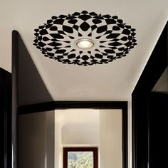 Ceiling Decal Rosetta - OpArt from Tiva Design on OpenSky.  Must-have for the walk-in closet!