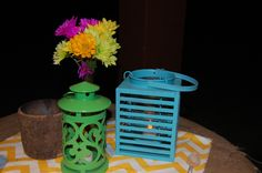 Glamping table decor