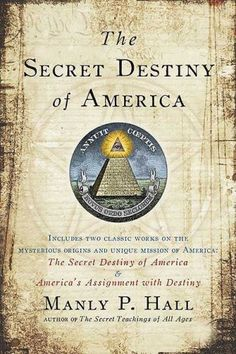 The Secret Destiny of America by Manly Hall. A MUST READ to understand why things are the way they are. Black History Books, Black History Facts, Black Books, Strange History, Good Books, Books To Read, Deep Books, Moorish Science, Cultures Du Monde