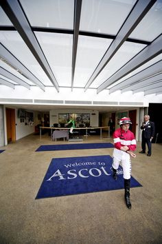 Ryan Moore Photos - Jockey Ryan Moore makes his way to the parade ring at Ascot Racecourse on July 22, 2016 in Ascot, England. - Ascot Races