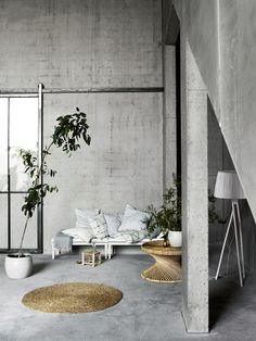 KITCHENTABLENOTE | Concrete and green: spring and summer inspiration by Tine K Home