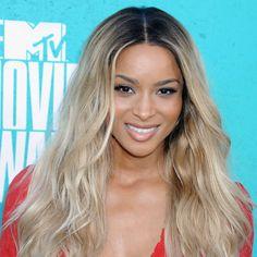 Ciara #makeup #style at the 2012 MTV Movie Awards