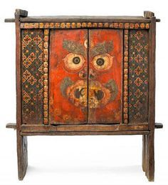 Tibetan Shrine cabinet himalayan art - Поиск в Google