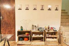 20. Para quem gosta de decoração rústica, opte por não pintar os móveis de pallets
