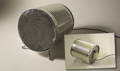 39. Speakers | From Drab To Fab: 48 DIYs For Average Tin Cans