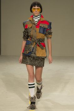 House of Holland Spring 2016 Ready-to-Wear Collection, London Fashion Week, LFW Recap, Women's Fashion, Fashion, Runway, h-a-l-e.com