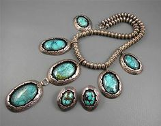 -*-*-bin800 turquoise necklace