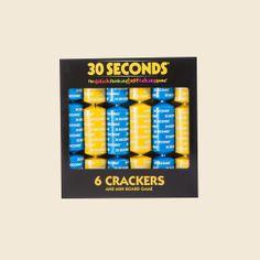 30 Seconds – Mini Board Game & 6 Crackers