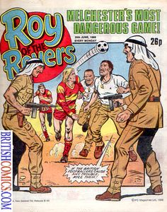 Roy of the Rovers Weekly Comic Covers Gallery 1986 Comic Book Artists, Comic Artist, History Page, Old Comics, My Childhood Memories, Comic Covers, Comic Character, Vintage Books, Artist At Work