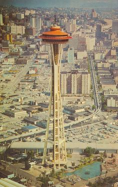 The Space Needle - Seattle, Washington