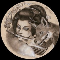 Kitsune's Vengeance by Zoe-Lacchei.deviantart.com on @DeviantArt