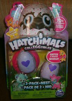 Hatchimals Colleggtibles Season 1, 2-Pack + Nest, Brand New Unopened