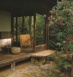 Japanese Home Design, Japanese Style House, Traditional Japanese House, Japanese Interior, Houses Architecture, Japanese Architecture, Photo Japon, Japanese Garden Landscape, Asian Garden