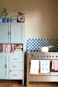 Larder - good place to store cookbooks too!