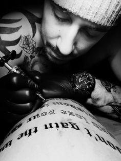 Tattoo artist @ Lat'Ink Tattoo - Stockholm - Robin