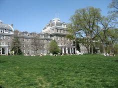 Swarthmore College, a Quaker school