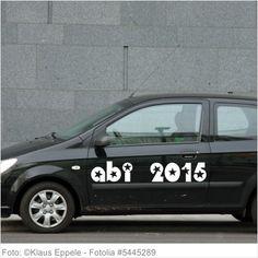 Autoaufkleber und Sticker ABI 2015 Sterne Style