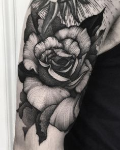 "2,415 Likes, 6 Comments - Kelly Violet (@kellyviolence) on Instagram: ""A rose for tough lad Olli continuing a half sleeve for him """