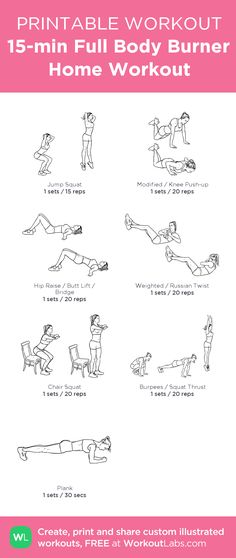 Super quick morning full body at home workout ... no equipment needed #customworkout