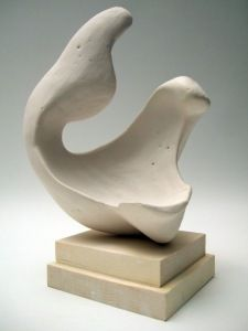 Students Make A Plaster Abstract Sculpture Interesting School
