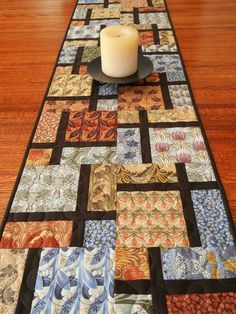 Contemporary Quilted Table Runner in Arts and Crafts by susiquilts, $55.00