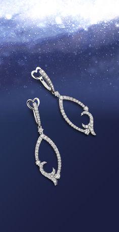 Bucherer earrings, a sparlking gift for Christmas #ChristmasMagic #wishlist