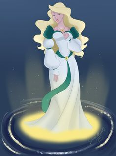 Odette, The Swan Princess, Disney Princess, Disney Fan Art