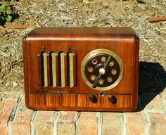 1937 GE General Electric Antique Am Radio Model G 50 Looks Good and Works | eBay
